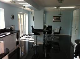 Extension Inside Retro Kitchen. Broxbourne