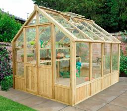 Vale 10 x 8 greenhouse