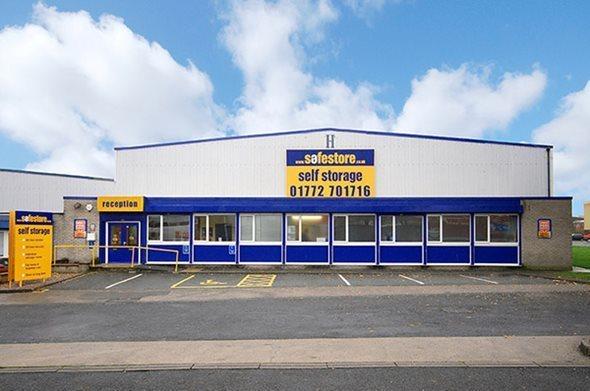 Safestore Self Storage Preston Unit H Guild Trade Centre