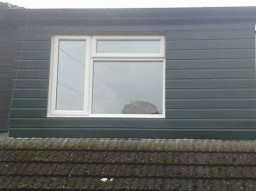 UPVC Wall cladding with new insulation