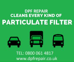 dpf repair logo/header