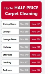 Carpet Cleaning South Yorkshire