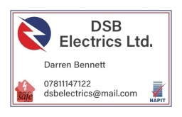 Dsb Electrics Business Card Frame