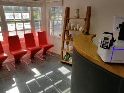 The Salon - Reception Area