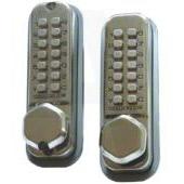 Codelocks fitted to internal doors