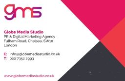 Globe Media Studio Business Card