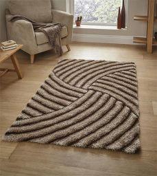 contemporary shaggy rug
