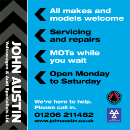 John Austin car servicing Colchester