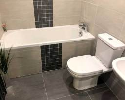 Bath With Blocked Drain in Cookridge