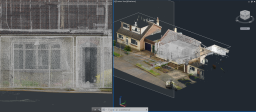 Front Elevation Point Cloud Example