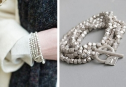 Tutti & Co Silver Bar Bracelet/Necklace