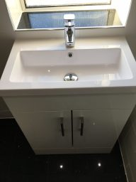 New sink fitted in bathroom Bristol