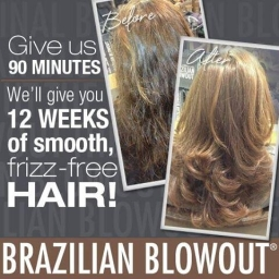 Brazilian Blowout Keratin Treatment Result
