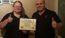 The owners of Removals Hull, Sam & Zoe