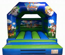 12.5 x 16ft Paw Patrol Bouncy Castle