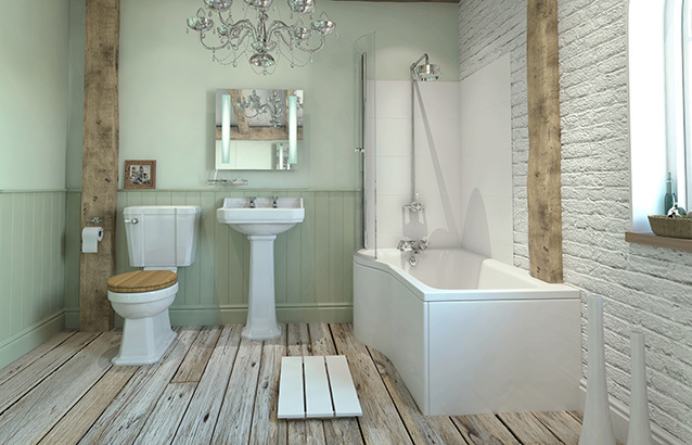 Bathrooms com link house 19 colonial way watford wd24 for Small 3 piece bathroom ideas