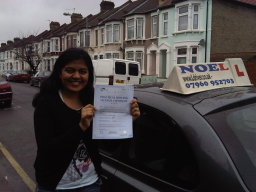 Pass It First Time student Sweta Dsouza
