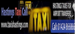 Hastings Taxi Call Banner