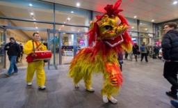 Guan Yin Northern Lion Lion Dance
