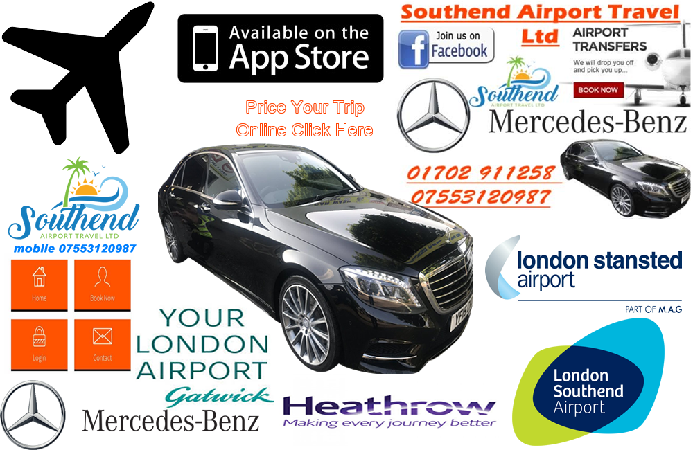 how to get from chatteris to southend airport