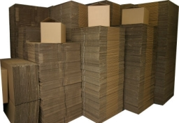 Visit our showroom  select your own removal boxes