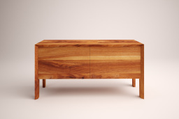 Maca sideboard in solid walnut