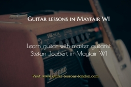 Guitar Lessons in Mayfair W1
