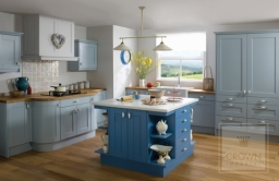 Midsomer - Solid Oak painted finish kitchen