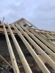 New roof construction