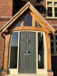Oak Porch - Westwood Heath