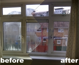 When double glazed units become misted up or foggy, a popular misconception is that the whole window, including the frames need to be replaced. 99% of the time the double glazed units can be replaced at a fraction of the cost.