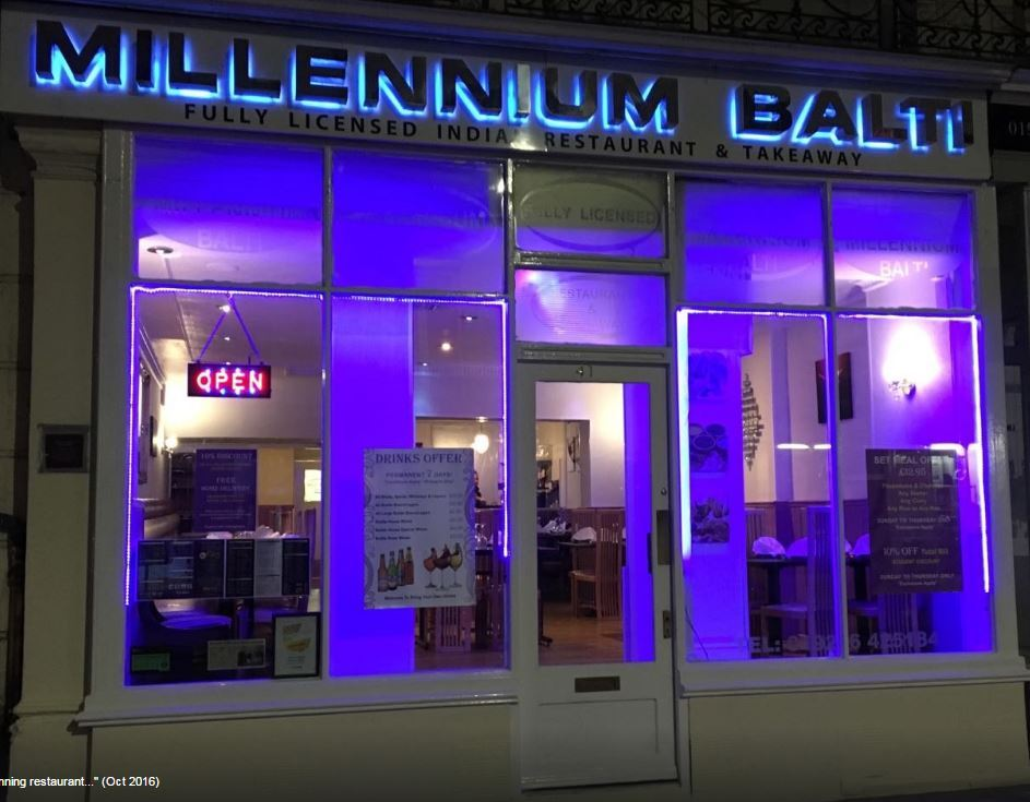 Millennium Balti 41 Bath St Leamington Spa Warwickshire Cv31 3ag Leamington Courier