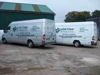 Cat Litter is delivered in these vans