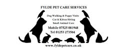 Services include dog walking & pet sitting