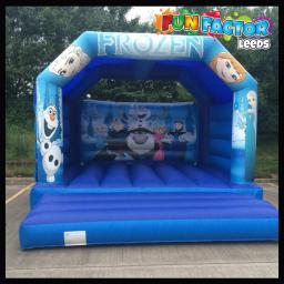 Adults and children suitable frozen castle