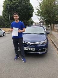 Rash passed 1st time in West Wickham