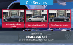 Guildford Airport taxi Transfers