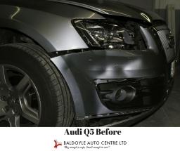 Audi Q5 Before