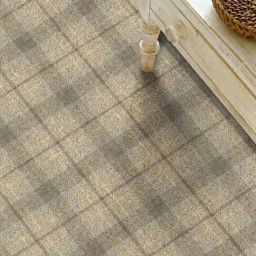 Hugh Mackay Tartan 4M Tartan Maple carpet roomshot