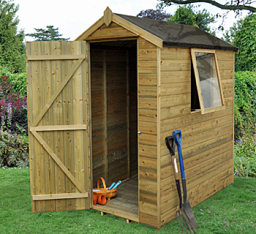Premium 4 x 6 shed