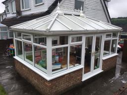 Conservatory roof cleaning | BrightWhite UPVC