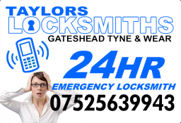 Locksmith in Gateshead and Sunderland