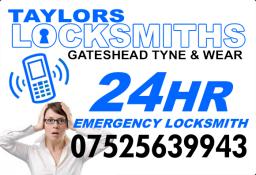 Locksmith in Gateshead and Sunderland