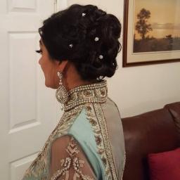 Asian Wedding Hair West Midlands