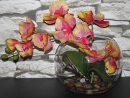 Artificial Flowers Silk Floral Centrepiece