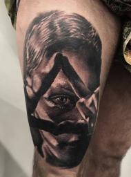 realistic tattoo , Stotker Tattoo ,London