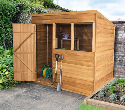 7 x 5 pent overlap shed