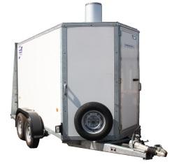 Mobile boiler hire