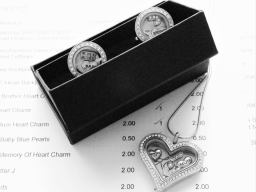 Floating Heart Locket & Mens Locket Cufflinks