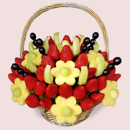 Flowers out of Fruits